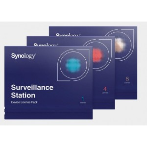 SOFTWARE LIC /SURVEILLANCE/STATION PACK4 DEVICE SYNOLOGY