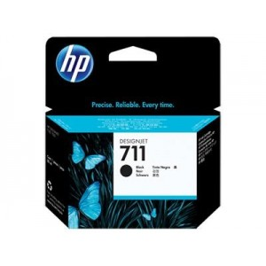 INK CARTRIDGE BLACK NO.711/80ML CZ133A HP
