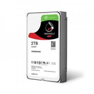 HDD | SEAGATE | IronWolf | 2TB | SATA 3.0 | 64 MB | 5900 rpm | 3,5"