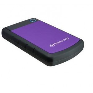 External HDD | TRANSCEND | StoreJet | 4TB | USB 3.0 | Colour Purple | TS4TSJ25H3P