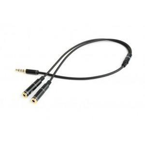 CABLE AUDIO 3.5MM 4-PIN TO/3.5MM S+MIC CCA-417M GEMBIRD