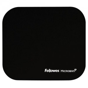 MOUSE PAD MICROBAN/BLACK 5933907 FELLOWES