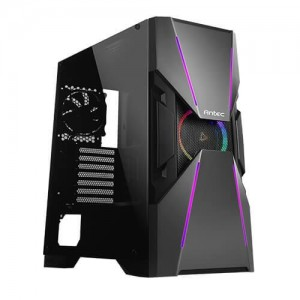 Case | ANTEC | DA601 | MidiTower | Not included | ATX | EATX | MicroATX | Colour Black | 0-761345-80018-1
