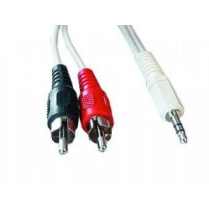 CABLE AUDIO 3.5MM TO 2RCA 20M/CCA-458-20M GEMBIRD