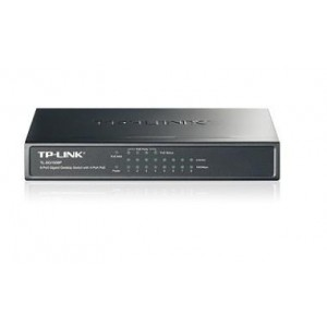 NET SWITCH 8PORT 10/100/1000M/POE TL-SG1008P TP-LINK