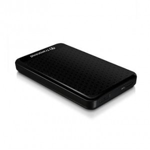 External HDD | TRANSCEND | StoreJet | 1TB | USB 3.0 | Colour Black | TS1TSJ25A3K