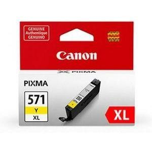 INK CARTRIDGE YELLOW CLI-571XL/0334C001 CANON