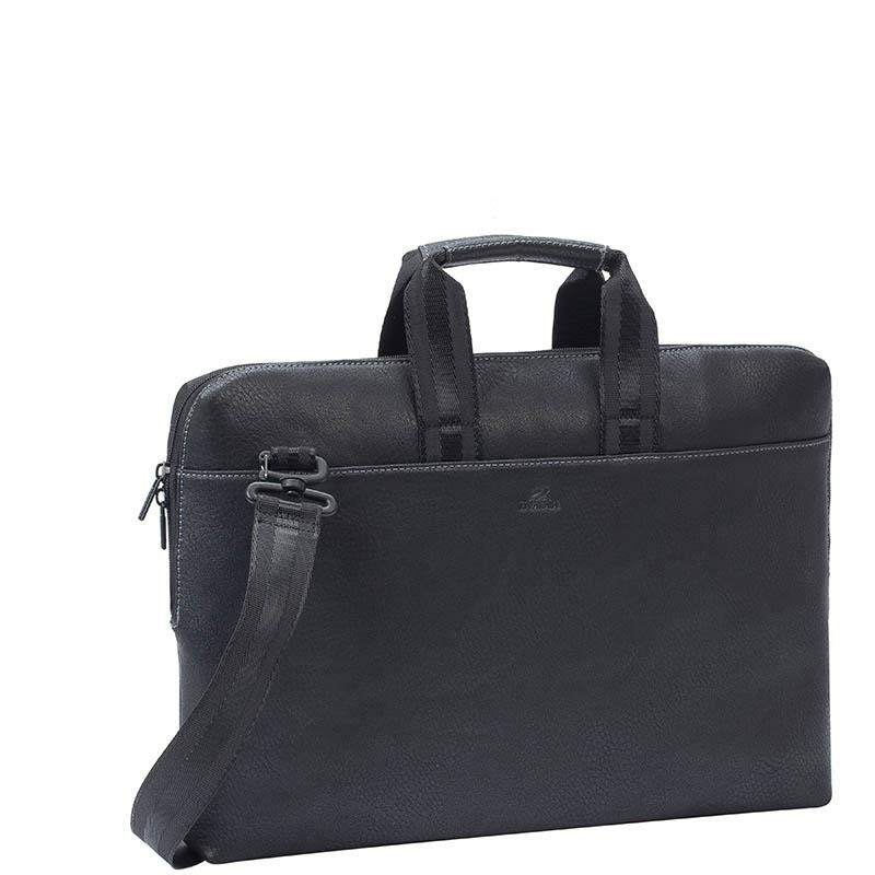 "NB CASE ORLY 15.6""/8931 (PU) BLACK RIVACASE"