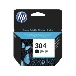 INK CARTRIDGE BLACK NO.304/N9K06AE HP