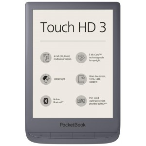 E-Reader | POCKETBOOK | Touch HD 3 | 6"