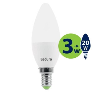 Light Bulb | LEDURO | Power consumption 3 Watts | Luminous flux 200 Lumen | 2700 K | 220-240V | Beam angle 360 degrees | 21130