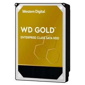 HDD | WESTERN DIGITAL | Gold | 8TB | 256 MB | 7200 rpm | 3,5"