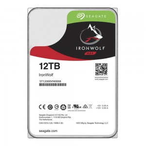 HDD | SEAGATE | IronWolf | 12TB | SATA 3.0 | 256 MB | 7200 rpm | 3,5"