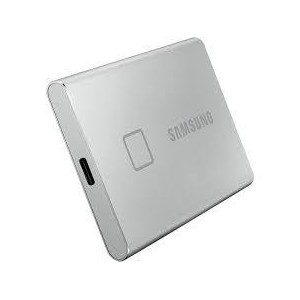 External SSD | SAMSUNG | T7 Touch | 500GB | USB 3.2 | Write speed 1000 MBytes/sec | Read speed 1050 MBytes/sec | MU-PC500S/WW