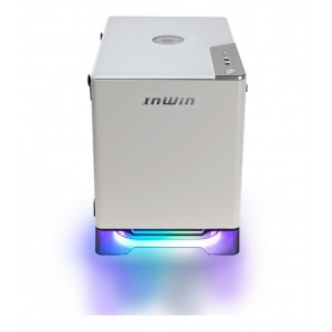 Case | IN WIN | A1 Plus | MiniTower | 650 Watts | MiniITX | Colour White | A1PLUSWHITE