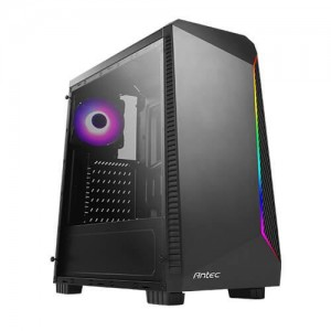 Case | ANTEC | NX220 | MidiTower | Not included | ATX | MicroATX | MiniITX | Colour Black | 0-761345-81022-7