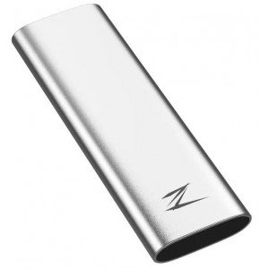 External SSD | NETAC | 128GB | USB-C | Write speed 480 MBytes/sec | Read speed 520 MBytes/sec | NT01ZSLIM-128G-32SL