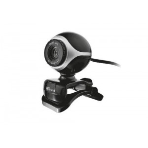 CAMERA WEBCAM USB2 EXIS/BLACK/SILVER 17003 TRUST