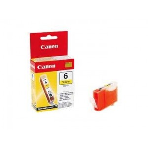 INK CARTRIDGE YELLOW BCI-6Y/4708A003 CANON
