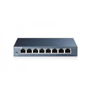 NET SWITCH 8PORT 1000M/TL-SG108 TP-LINK