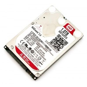 HDD | WESTERN DIGITAL | Red | 1TB | SATA 3.0 | 16 MB | IntelliPower rpm | 2,5"