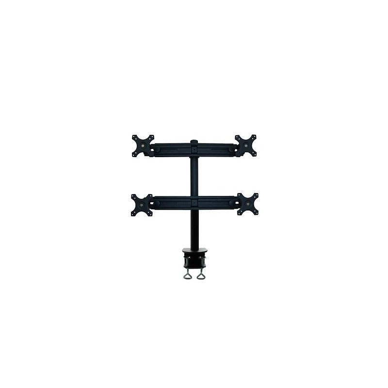 "TV SET ACC DESK MOUNT BLACK/19-27"" FPMA-D700D4 NEWSTAR"