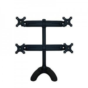 "TV SET ACC DESK MOUNT BLACK/19-27"" FPMA-D700DD4 NEWSTAR"