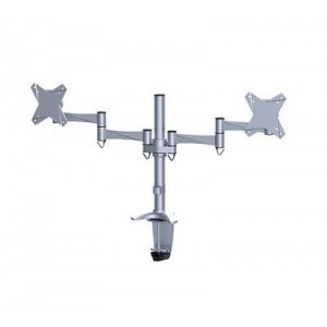 "TV SET ACC DESK MOUNT 10-24""/FPMA-D1330DSILVER NEWSTAR"