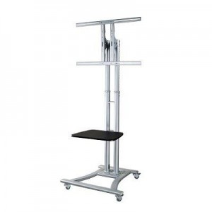 "TV SET ACC FLOOR STAND SILVER/27-60"" PLASMA-M1800E NEWSTAR"