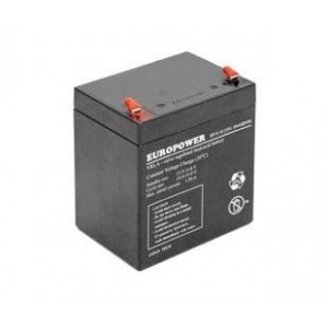 BATTERY 12V 5AH VRLA/EP5-12T2 EUROPOWER EMU