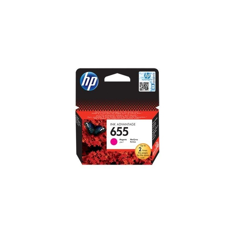 INK CARTRIDGE MAGENTA NO.655/CZ111AE HP