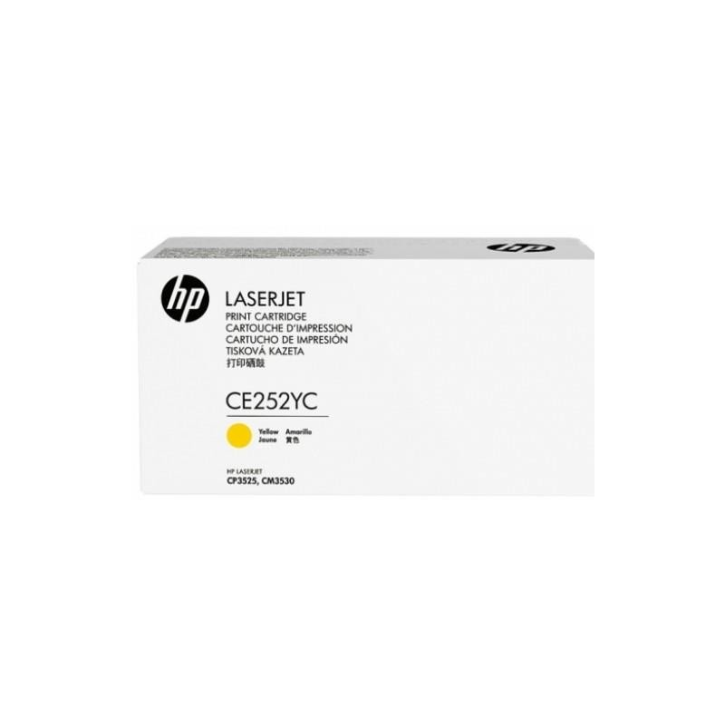 TONER YELLOW 504A /CP3525 7.9K/CE252YC HP