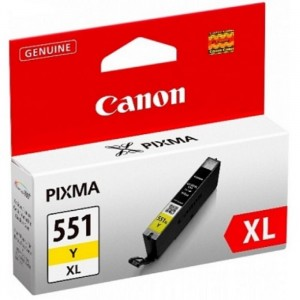 INK CARTRIDGE YELLOW 551 XL/6446B001 CANON