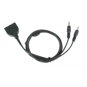 CABLE MIC&HEADPHONE EXTENSION/1M CC-MIC-1 GEMBIRD