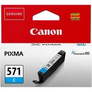 INK CARTRIDGE CYAN CLI-571/0386C001 CANON