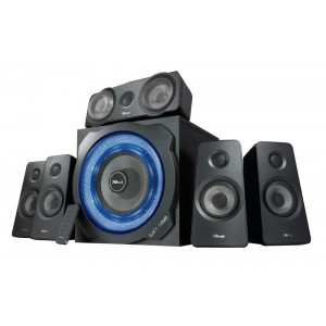 Speaker | TRUST | P.M.P.O. 180 Watts | 3xStereo jack 3.5mm | Black | 21738