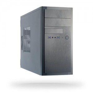 Case | CHIEFTEC | MiniTower | MicroATX | Colour Black | HT-01B-OP