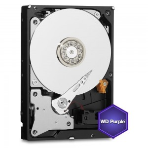 HDD | WESTERN DIGITAL | Purple | 2TB | SATA 3.0 | 64 MB | 5400 rpm | 3,5"