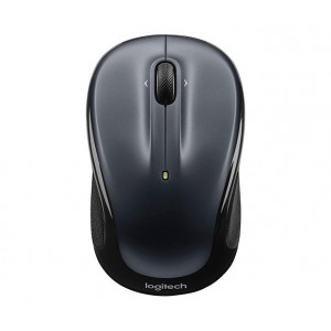 MOUSE USB OPTICAL WRL M325/DARK SIL. 910-002142 LOGITECH