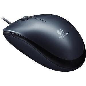 MOUSE USB OPTICAL M100/BLACK 910-005003 LOGITECH