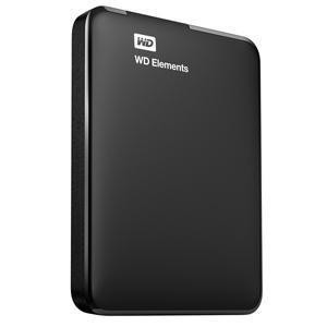 External HDD | WESTERN DIGITAL | Elements Portable | 4TB | USB 3.0 | Colour Black | WDBU6Y0040BBK-WESN