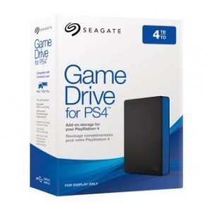 External HDD | SEAGATE | 4TB | USB 3.0 | Colour Black | STGD4000400