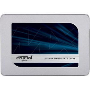SSD | CRUCIAL | MX500 | 500GB | SATA 3.0 | TLC | Write speed 510 MBytes/sec | Read speed 560 MBytes/sec | 2,5"