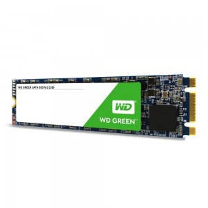 SSD | WESTERN DIGITAL | Green | 240GB | M.2 | SATA 3.0 | Read speed 545 MBytes/sec | MTBF 1000000 hours | WDS240G2G0B