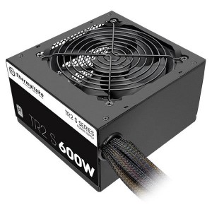 Power Supply | THERMALTAKE | 600 Watts | Efficiency 80 PLUS | PFC Active | PS-TRS-0600NPCWEU-2