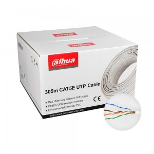 CABLE CAT5E UTP 305M WHITE/PFM920I-5EUN DAHUA