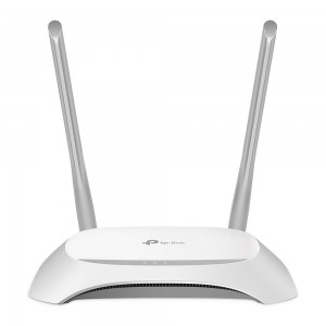 Wireless Router|TP-LINK|Wireless Router|300 Mbps|IEEE 802.11b|IEEE 802.11g|IEEE 802.11n|1 WAN|4x10/100M|DHCP|Number of antennas