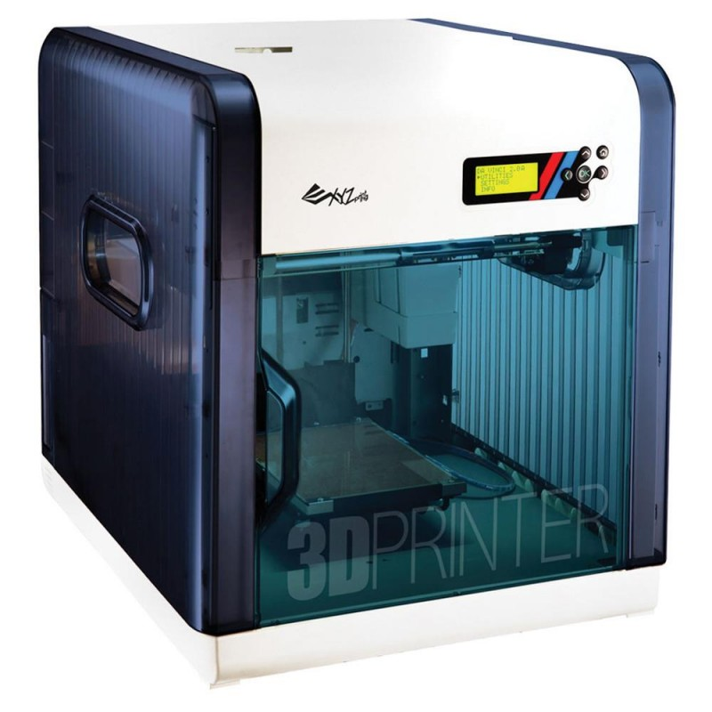 3D Printer | XYZPRINTING | Technology Fused Filament Fabrication | da Vinci 2.0A Duo | size 46.8 x 55.8 x 51 cm | 3F20AXEU01B