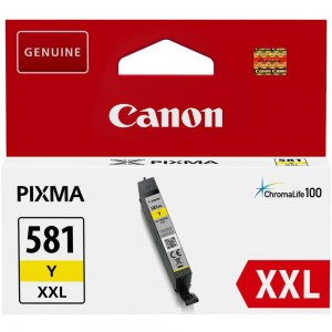 INK CARTRIDGE YELLOW/CLI-581XXL 1997C001 CANON