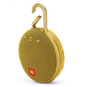 Portable Speaker | JBL | CLIP 3 | Portable/Waterproof/Wireless | 1xAudio-In | 1xMicro-USB | Bluetooth | Yellow | JBLCLIP3YEL